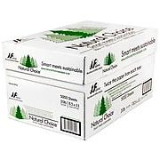 "Natural Choice 8.5"" x 11"" Multipurpose Paper, 20 lbs., 92 Brightness, 500 Sheets/Ream, 10 Reams/Carton (MNW000-01)"