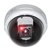 ALC Dome Decoy Camera w/ Red LED Light, White/Black (AWFD02)