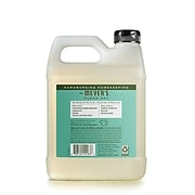 Mrs Meyer's Clean Day Liquid Hand Soap Refill, Basil Scent, 33 oz (651349)