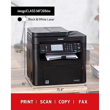 Canon imageCLASS MF269DW Multifunction Mono Laser Printer, Wireless, Duplex