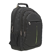 Club Rochelier Backpack with USB port and Charger, Solid, Black (CRBP125-17)