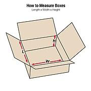 14'' x 6'' x 2'' Computer Packing Boxes Box, 200#/ECT, 25/Bundle (1462)