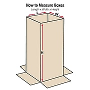 "Heavy-Duty Telescoping Inner Boxes, 48"" x 6"" x 38"", Kraft, 10/Bundle (T48638INHD)"