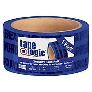 """Tape Logic 2"""" x 60 yds. x 2.5 mil Secure Tape,  Blue, 1/Pk"""