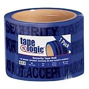 """Tape Logic 3"""" x 60 yds. x 2.5 mil Secure Tape,  Blue, 1/Pk"""