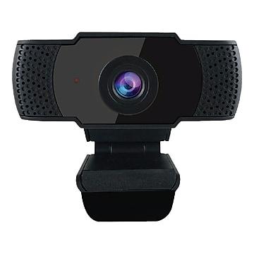 OTM Essentials HD Elite 2 Megapixels Portable Webcam, Black (OB-AJK)