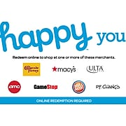 Happy You Gift Card $50 (Email Delivery)