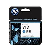 HP 712 Cyan Standard Yield Ink Cartridge (3ED67A)