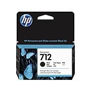 HP 712 Black Standard Yield Ink Cartridge (3ED70A)