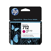HP 712 Magenta Standard Yield Ink Cartridge (3ED68A)