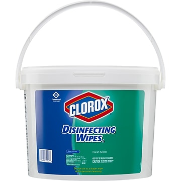 Clorox Commercial Solutions Clorox Disinfecting Wipes, Fresh Scent , 700 Wipes (31547)