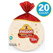 Mission Fajita Flour Tortillas, 23 oz. (220-01121)