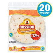 Mission Medium Soft Taco Flour Tortillas, 35 oz. (220-01123)