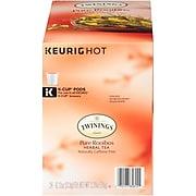 Twinings of London Pure Rooibos Red Herbal Tea, Keurig K-Cup Pods, 24/Box (2798327)