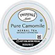 Twinings of London Pure Camomile Herbal Tea, Keurig K-Cup Pods, 24/Box (F08761)