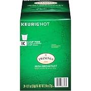Twinings of London Irish Breakfast Tea, Keurig K-Cup Pods, 24/Box (F10993)