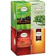 Twinings of London Variety Pack Tea, Keurig® K-Cup® Pods, 24 K-Cup® Pods/Box, 4 Boxes/Case (F15486)
