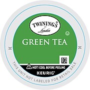 Twinings of London Green Tea, Keurig K-Cup Pods, 24/Box (TNA85788)