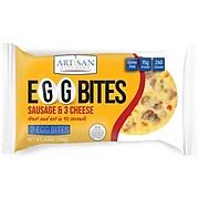 Artisan Kitchen Grab N Go Sausage & Three Cheese Egg Bites, 2-Count, 6/Pack (903-00153)
