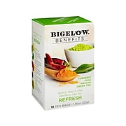 Bigelow Benefits Turmeric Chili Matcha Tea Bags, 18/Box (00826)