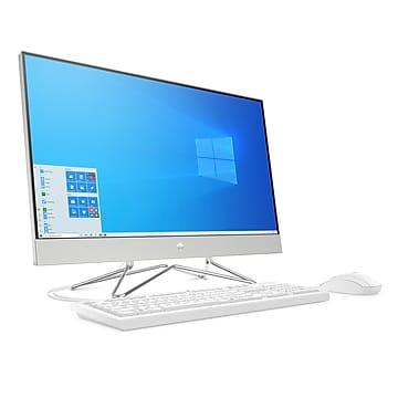 HP 27-dp0006 27  All-in-One Desktop Computer, Intel i5, 8GB RAM, 256GB SSD (9EE09AA) - At Staples