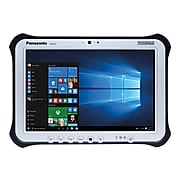 "Panasonic Toughpad 10.1"" Tablet, 8GB (Windows 10), Black/Silver (FZ-G1V1651VM)"