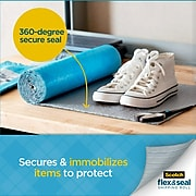 "Scotch Flex & Seal Shipping Roll Self-Sealing Padded Mailer, 15"" x 20', Blue (FS-1520)"