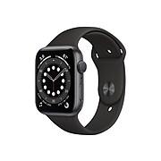 Apple Watch Series 6 (GPS) Bluetooth, Space Gray/Black (M00H3LL/A)