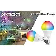 XODO 9-Watt White Smart Wi-Fi A19 E26 Dimmable LED Light Bulbs, 4/Pack (LB3 4-Pack)