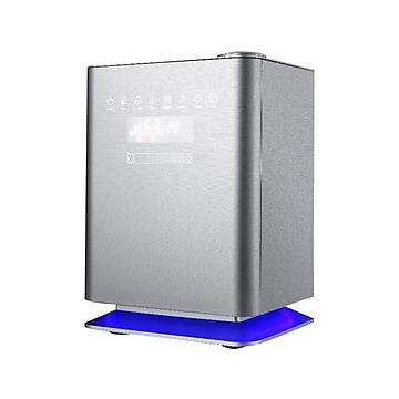 Crane Premium Top Fill Ultrasonic Warm & Cool Mist Humidifier with UV Light & Remote, 1.2 Gal., Metallic (EE-6913)