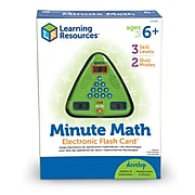 Learning Resources Minute Math Electronic Flash Card, Grade 1 - 3 (LER6965)