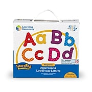 Learning Essentials Magnetic Uppercase and Lowercase Letters (LER7725)