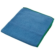 WypAll Microfiber Dry Cloths, Blue, 6/Pack (83620)