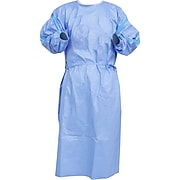 AAMI Level 2 Isolation Gowns, XL, 10/Box (604-007207)
