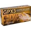 Ammex GPX3 Latex Free Clear Gloves, Vinyl