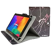 """Linsay 10.1"""" Tablet with Case, WiFi, 2GB RAM, 32GB Storage (Android 11), Black with Black/Pink Marble (F10IPBAPI)"""
