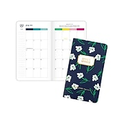 """2021-2022 AT-A-GLANCE 6"""" x 3.5"""" Academic Planner, Simplified by Emily Ley, Dogwood (EL61-021A-22)"""