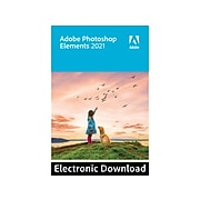 Adobe Photoshop Elements 2021 Photo Editing for Windows, 1 User, Download