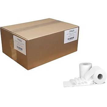 24 Rolls/Case Von Drehle Professional 1-Ply Standard Toilet Paper