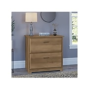 """Bush Furniture Cabot 2-Drawer Lateral File Cabinet, Letter/Legal, Reclaimed Pine, 31"""" (WC31580-03)"""