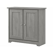 "Bush Furniture Cabot 30.2"" Storage Cabinet with 2 Shelves, Modern Gray (WC31396-03)"