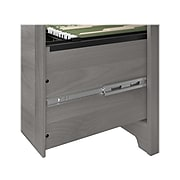 "Bush Furniture Cabot 60"" Corner Desk, Modern Gray (WC31315-03K)"