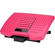 Mind Reader Footrest, Black/Pink (FTROLL-PNK)