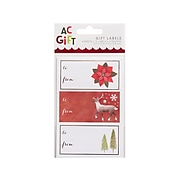 """American Crafts Paper Gift Tags, 3"""" x 1.5"""", Assorted Designs, 48/Pack (34003507)"""