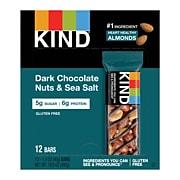 KIND Bar, Dark Chocolate Nuts & Sea Salt, 1.4 Oz., 12/Box (PHW25795)