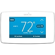 Sensi ST75WU Touch Smart Thermostat, White