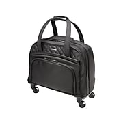 Kensington Contour 2.0 Executive Balance Polyester, 4-Wheel Spinner Luggage, Black (K60380WW)