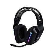 Logitech G Series G733 Wireless Over-the-Ear Gaming Headset, Black