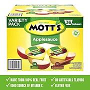 Motts's Applesauce Variety, 4 Oz., 36 Count, Each (21171)