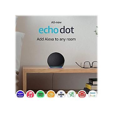 Amazon Echo Dot (4th Gen) 53-023502 Streaming Media Speaker, Charcoal